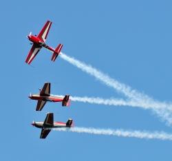 The Royal Jordanian Falcons aerobatic team