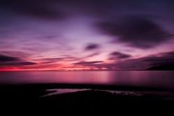 západ slunce u Grundarfjordur